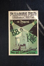 B.B. King Tour Poster 1955 Galveston Texas Marine Room