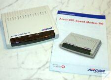 Arcor DSL Speed Modem 2000 mit Handbuch ADSL / ADSL 2+ Internet _cd