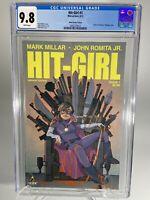 Hit Girl #1 Noto 1:50 Game of Thrones Variant Millar Romita Kick Ass CGC 9.8