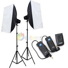 GODOX K-150A 3x150W Photography Strobe Studio Flash Lighting Light Kit 220V