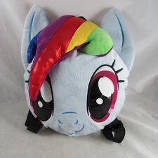 My Little Pony Rainbow Dash Stuffed Plush Animal Girls Backpack Purse Bag