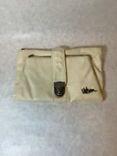 Volcom Wallet, Clutch, Off White, Foldable