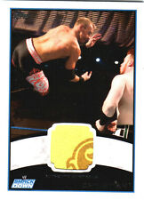 WWE Christian 2012 Topps Authentic Event Worn Shirt Relic Card Yellow 2 Color