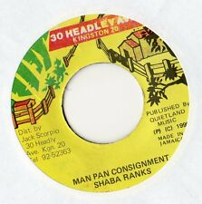 "Shaba Ranks - Man Pan Consignment 7"" Sgl 1990 / Shabba"