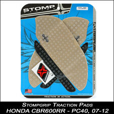 StompGrip Traction pads Honda CBR 600rr 07-12 pc40 claramente cubierta depósito 55-10-0020