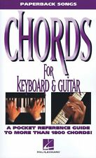 Chords for Keyboard and Guitar Sheet Music Paperback Songs NEW 000702009