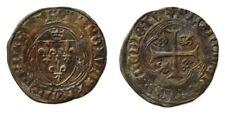 CHARLES VIII l'Affable (1483-1498). Blanc à la couronne
