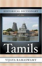 Historical Dictionary of the Tamils (Historical Dictionaries of Peoples and