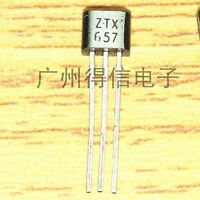 ZTX657 Transistor Silicon NPN - CASE: TO92 MAKE: Diodes Inc.