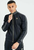 The Presidents Club Mens Zip Up Tracksuit Top Jacket Smart Casual King Gym New