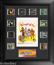 Film Cell Genuine 35mm Framed Matted Wizard of Oz Poster Limited Montage 5026