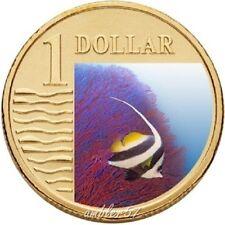 **2007 Australian Longfin Bannerfish $1 coin UNC **