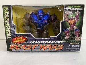 Transformers Beast Wars Transmetals Heroic Maximal OPTIMUS PRIMAL, New in Box
