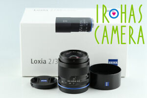 Zeiss Loxia Biogon T* 35mm F/2 Lens for Sony E With Box #33020 L7