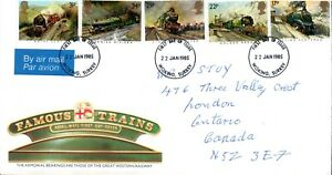 Royal Mail First Day Cover Cachet, Posted to Canada-    pb6