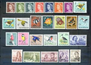 Australia 1966-1973 Decimal Navigators set 25 to $4 mint n.h. )2021/10/16#09)