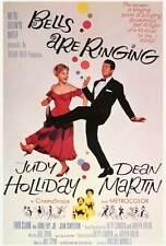 BELLS ARE RINGING Movie POSTER 27x40 Judy Holliday Dean Martin Fred Clark Eddie