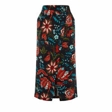 Knee Length Viscose Wrap, Sarong Floral Skirts for Women