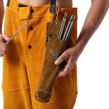 AP-9110GB Fire Resistant Split Cowhide Leather Welding Rod Holder /Electrode Bag