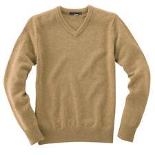 VANCL V-Neck Men Premium Wool Sweater Large NWT