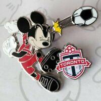 Mickey Mouse Soccer Teams Toronto FC Kicking Ball Disney Pin 119388