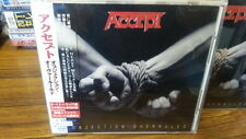 ACCEPT Objection overruled CD JAPAN 1ST PRESS +Bns Trk with OBI s3030