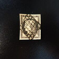 FRANCE TIMBRE TYPE CÉRÈS N°3 OBLITÉRATION GRILLE DE 1849 COTE 65€
