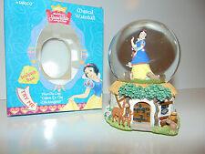 "Snow White Snow Globe Disney Music Box ""Listen To The Mockingbird"" NEW IN BOX @@"