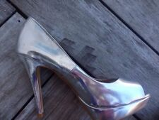 NEXT Patternless Peep Toes Synthetic Heels for Women