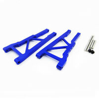Traxxas Slash 4X4 1:10 Alloy Front Lower Arm, Blue by Atomik RC - Replaces 3655X