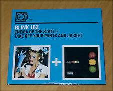 PACK 2 CD BLINK 182 ENEMA STATE TAKE OFF PANTS JACKET HARDCORE PUNK ROCK NOFX