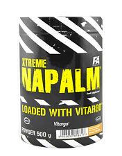FA XTRME Napalm Pré Vitargo 500 G/1000 g Pré-Entraînement Énergie élevée Booster