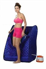 Portable Therapeutic Steam Sauna Head Cover Full Body with free shipping