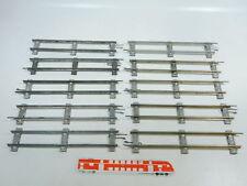 BW95-1 #10x Märklin Escala 0 Piezas de vía Recto (26cm) para Accionamiento Reloj