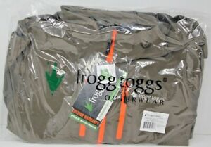 Frogg Toggs Pilot II Guide Jacket Stone/Taupe Large PF63161-405LG New W Tags