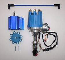 Small Cap OLDSMOBILE 330,350,400,403,455 PRO SERIES BLUE HEI Distributor & Coil