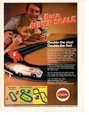 1973 PORSCHE & McLAREN CAM-AM RACING ~ ORIGINAL COX AD