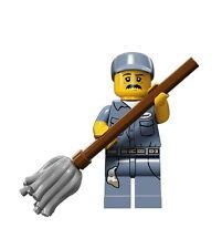 LEGO 71011 Minifigures Serie 15 - Hausmeister / Janitor - Sammelfiguren CMF 15