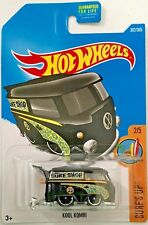 Hot Wheels 2017 Surf's Up #2/5 Kool Kombi #Dty42 1:64 Scale Diecast
