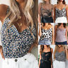 Women Summer Vest Top Sleeveless Blouse Casual Tank Tops T-Shirt Camisole Top UK