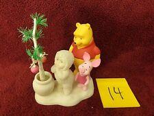 Dept 56 Snowbabies Pooh's Hunny Tree with Pooh & Piglet,eyore,tigger,disney,