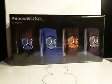 New Sealed Mercedes-Benz Man 100 % original Mini Gift Set 4x 5ml Men Perfume