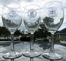 USAF Chiefs' Ball Wine Glass Set - Andrews AFB Chiefs' Group National Capital