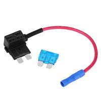 5pcs Mini Fuse Tap Dual Circuit Adapter Auto Car Audio Wire Connectors Socket