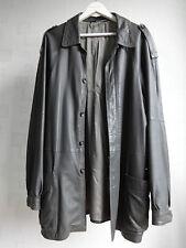 HARRODS Vintage Morbido Napa leather jacket yanko Taglia 54 Giacca Harrington Stile