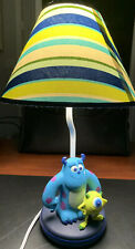 Disney Pixar Monster's Inc Lamp With Shade Mike & Sully