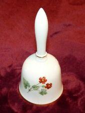 Rare cloche de table ou de service en porcelaine à décor floral   Mintons bell