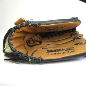 FBI Baseball Glove Left Hand Professional Model 13 Inch Leather Brown [Lot A]