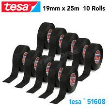 Tesa 51608 PVO Soft PET Fleece Tape 19 mm X 25 m Roll for Flexibility 10Pcs Pack