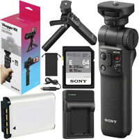 Sony ACCVC1 Vlogger Kit GP-VPT2BT Shooting Grip w/ Remote + Battery for NP-BX1